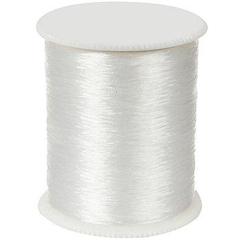 Perlonfaden, weiss, 0,15 mm, 150 m