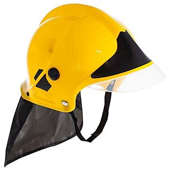 Feuerwehrhelm für Kinder, gelb/schwarz