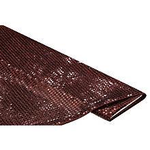 Paillettenstoff 'Gloss', kupfer, 6 mm Ø, 140 cm breit