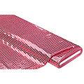 Tissu à paillettes scintillantes, rose, 6 mm Ø, 140 cm de large