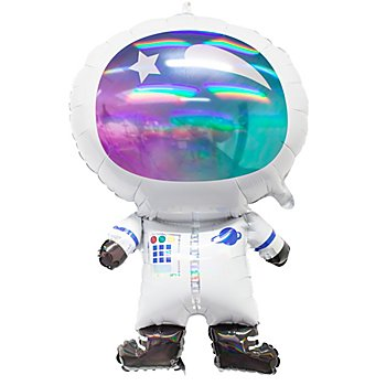 Folienballon 'Astronaut', 76 cm hoch