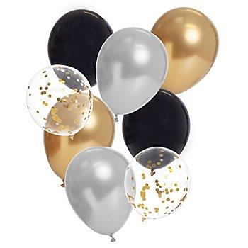Luftballons 'Glamour', 8 Stück