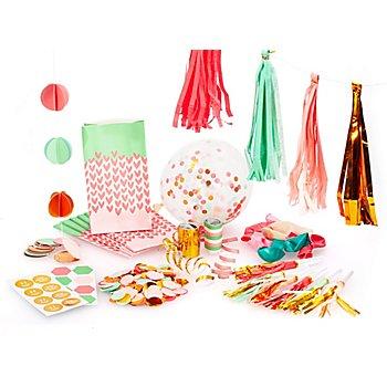 Set de décoration de fête 'copines', 41 pièces