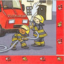 Servietten 'Feuerwehr', 20 Stück