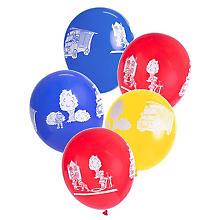 Luftballons 'Feuerwehr', 5 Stück
