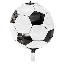 Folienballon 'Fussball' 4D, Ø 38 cm