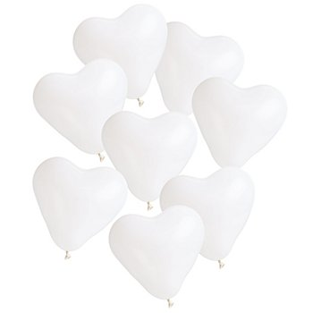 Luftballon 'Herz', Ø 25 cm, 8 Stück