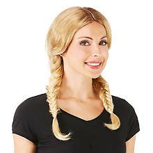 Perruque à nattes 'Stacy', blonde