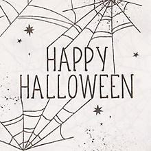 Papierservietten 'Happy Halloween', 33 x 33 cm, 16 Stück