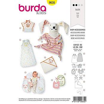 burda Parton 9635 'Accessoires pour bébé'