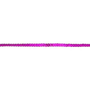 Paillettenband, pink, Breite: 6 mm, Länge: 3 m