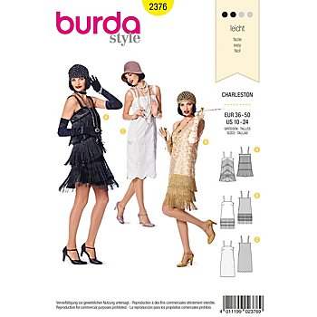 burda-Schnitt 2376 'Charleston'