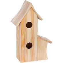 Vogelhaus aus Holz, 24 x 12 x 36 cm