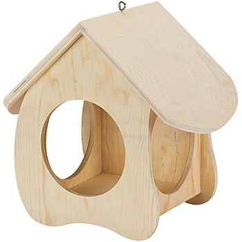 Vogelhaus aus Holz, 29 x 18,5 x 26 cm