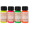 "buttinette Stoffmalfarben-Set ""Neon"", 4x 50 ml"