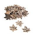 Ahornblätter aus Birkenrinde, 8 x 7,5 cm, 30 Stück
