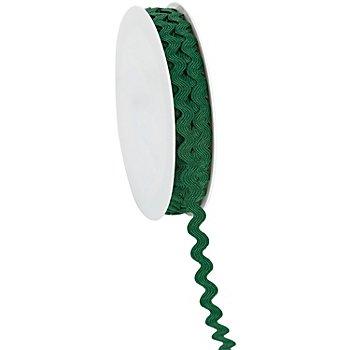 Zackenlitze, dunkelgrün, 7 mm, 5 m