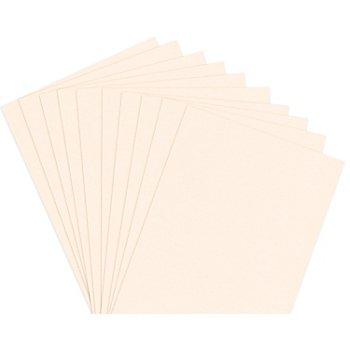 Papier à dessin teinté, crème, DIN A4, 50 feuilles
