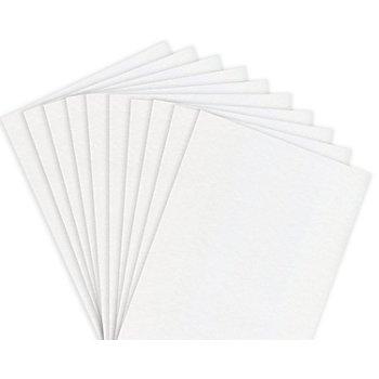 Papier cartonné, blanc, lot de 50 feuilles