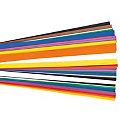 Tonpapierstreifen-Mix, bunt, 300 Stück