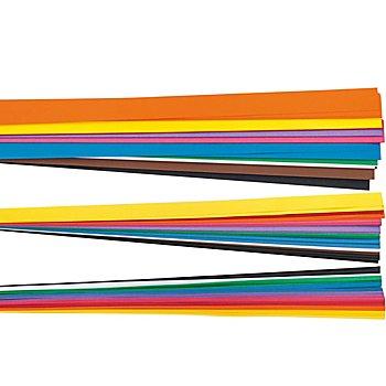 Bandes de papier pour quilling, multicolore, 300 pièces