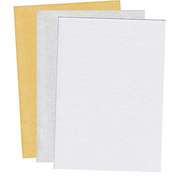Papier transparent 'nacré', 21 x 29,7 cm, 10 feuilles