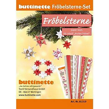 Papierstreifen-Set 'Fröbelsterne', 192 Streifen