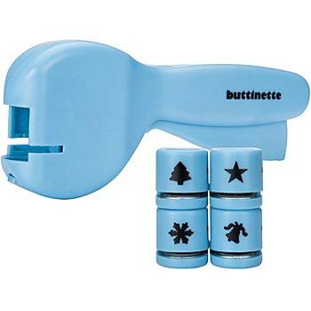 buttinette Mini-Stanzlocher-Set 'Weihnachten'