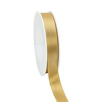 Satinband, gold, 15 mm, 20 m