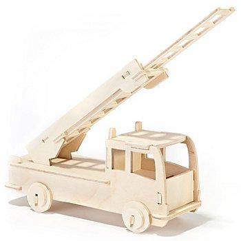 Kit créatif en bois 'camion de pompier', 17 x 31 cm