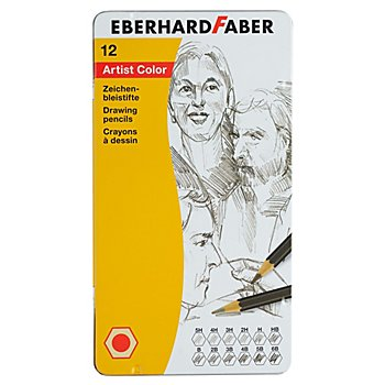 Set de crayons à dessin, 12 pièces