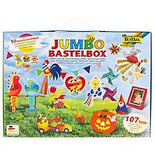 Kit créatif 'mallette de bricolage Jumbo', 107 pièces