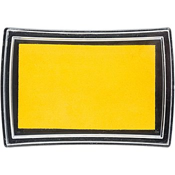 Stempelkissen, gelb, 52 x 76 mm