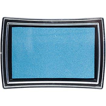 Tampon encreur, bleu clair