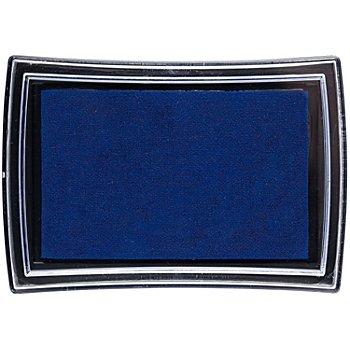 Stempelkissen, dunkelblau, 52 x 76 mm