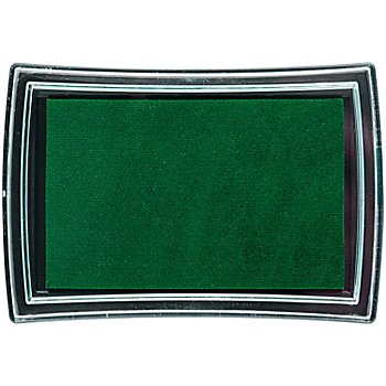Stempelkissen, dunkelgrün, 52 x 76 mm
