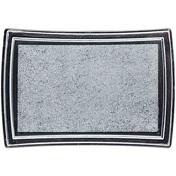 Stempelkissen, silber, 52 x 76 mm