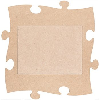 Cadre 'puzzle', rectangulaire, 24 x 24 cm