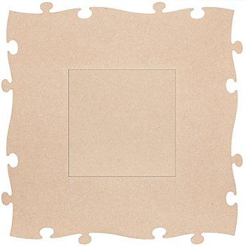 MDF-Puzzle-Bilderrahmen 'Quadrat', 45 x 45 cm