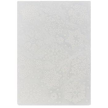 Prägeschablone 'Schneeflocke', 10,8 x 14,6 cm