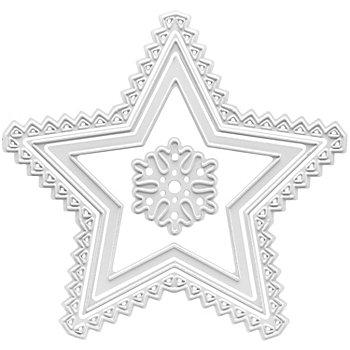 Stanz- und Prägeschablone 'Stern'