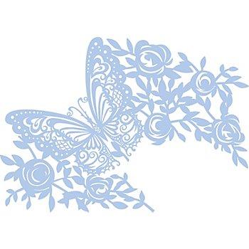 Maskier-Schablone 'Schmetterling'