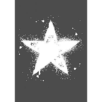 Rayher Pochoir pour sérigraphie 'étoile', 21 x 29,7 cm