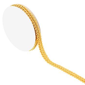 Posamentenborte, gelb, 10 mm, 5 m