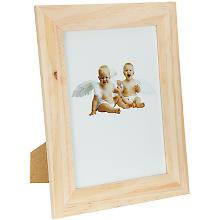 Cadre en bois, à poser ou suspendre, 18 x 23 x 1 cm