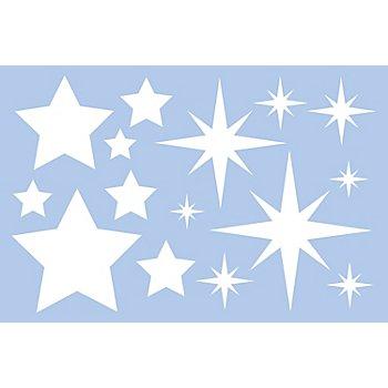 buttinette Pochoir 'étoiles'