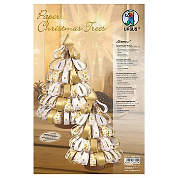 Ursus Paper Christmas Trees 'Glamour'