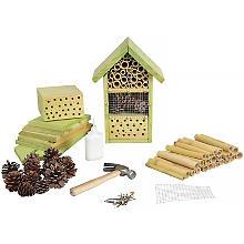 Kit créatif 'maison d'insectes' en bois, 18 x 14 x 26 cm