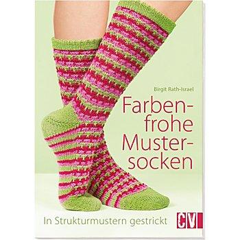 Buch 'Farbenfrohe Mustersocken'