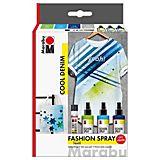 """Marabu Fashion-Spray-Set """"Cool Denim"""", 3x 100 ml"""